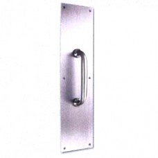 Stainless Steel Push & Pull Handle with Plate