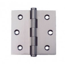 2.5inch x 2.5inch x 2.0mm Residential Solid Brass Door Hinge