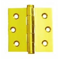 2.5 inch x 2.5 inch x 2mm Residential Solid Brass Door Hinge