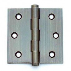 3.5inch x 3.5 inch x 2.0mm  Residential Solid Brass Door Hinge