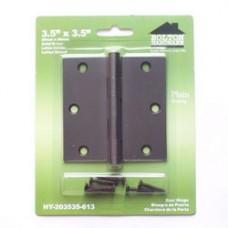 "3.5""x3.5""x2.0mm  Square Corner  Brass Hinges"
