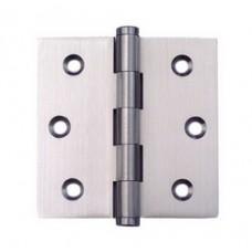 3.5 inchx 3.5inch x 2mm Residential Solid Brass Door Hinge