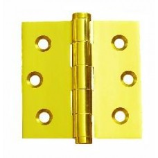 3.5 inchx 3.5inch x 2mm Residential Solid Brass Door Hinge
