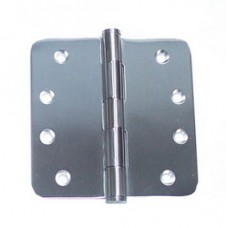"4inchx4inchx2.5mm 1/4""  Radius Stainless Steel Door Hinge"