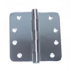 """4inchx4inchx2.5mm 5/8"""" Radius Stainless Steel Door Hinge"""