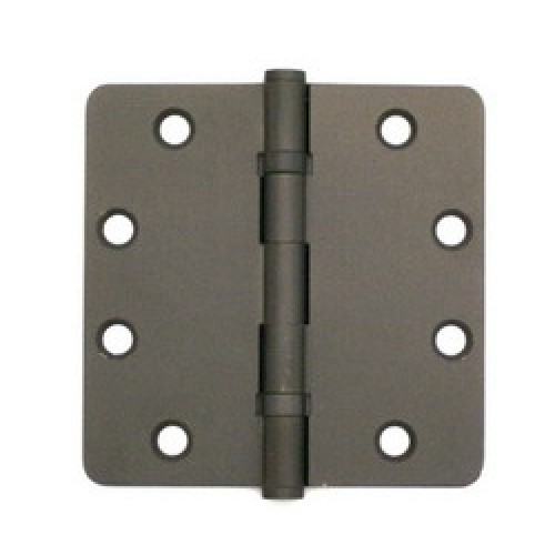 4 5 Inch X 4 5 Inch X 2 5mm Solid Brass Hinge Oil Rubbed