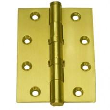 4inch x 3inch x 3mm Commercial Solid Brass Door Hinge