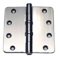 4 inch x 4 inch x3mm Commercial Solid Brass Door Hinge