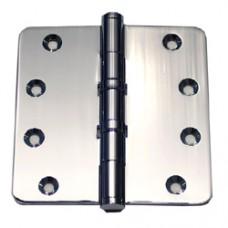 4 inch x 4 inch x3mm Commercial Solid Brass Door Hinge