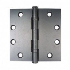 4.5inch x 4.5inch x 3.3mm Square Corner Solid Brass Hinges