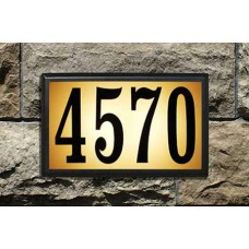 "Bayside™ Estate Lighted Plaque  13-1/2""  x 8-1/2""  x 2-1/2"""