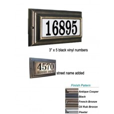 "Edgewood™ Standard Lighted Plaque  13.5""  x 7.5""  x 2.5"""