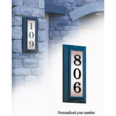 "Edgewood™ Vertical Lighted Plaque  7.75""  x 17.5""  x 2.5"""