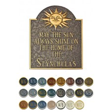 """HOME OF SUNSHINE Wall Plaque 15.5""""x 12.25"""""""
