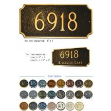 """Princeton Rectangle Metal Standard size 7-1/4"""" x 15-3/4"""""""