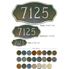 HAMILTON Address Plaque STANDARD SIZE