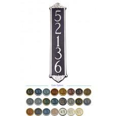 "Scroll Column Plaque 4""x 20"""