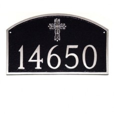 "Prestige Arch with Cross Plaque 15.5"" x 10.25"""