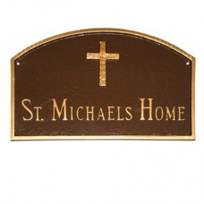 """Prestige Arch with Rugged Cross Plaque 15.5""""x 10.25"""""""