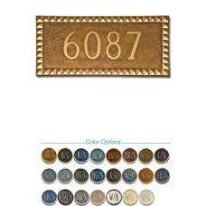 "Cairo Rectangle Metal Plaque 8-1/2"" x 17-1/4"""