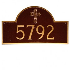 """Classic Arch with  Cross Plaque 10.25""""x 16.5"""""""