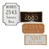 Rectangle Metal Plaques