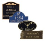 Specialty Address Plaques