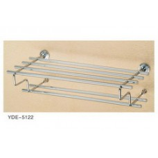 5100 Series - Solid Brass Double Towel Shelf