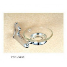 5400 Series - Solid Brass Soap Dish with Glass