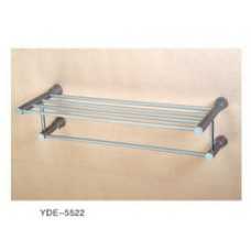 5500 Series -Solid Brass  Double Towel Shelf