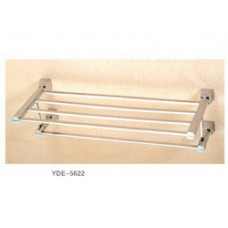 5600 Series -Solid Brass Double Towel Shelf