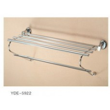 5900 Series -Solid Brass  Double Towel Shelf